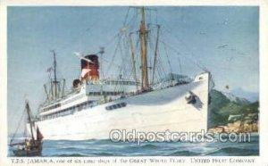 TES Jamaica Ship Unused