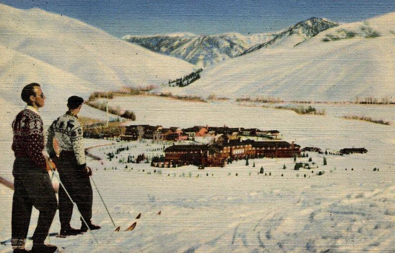 ID - Sun Valley Winter Scene   (Union Pacific RR)