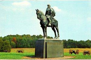 Virginia Manassas National Battlefield Park Stonewall Jackson Statue