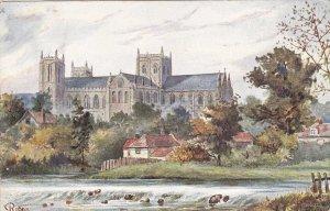 TUCK #6499; RIPON, England, PU-1909; Cathedral