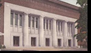 Michigan Ann Arbor Hill Auditorium University Of Michigan  Albertype