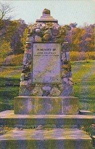 John Chapman Memorial Johnny Appleseed Dexter City Ohio