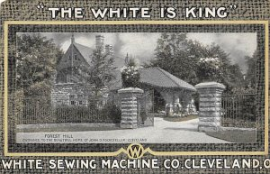 Advertising Post Card White Sewing Machine Co Cleveland, OH, USA Unused