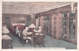 ATLANTIC CITY, New Jersey, PU-1942; The Hotel Dennis Library