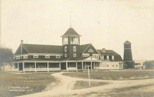 WV, Parkersburg, West Virginia, Country Club, RPPC