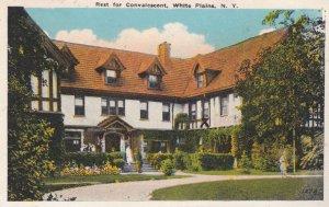 WHITE PLAINS , New York , 1910s ; Rest for Convalescent