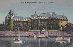C.P.R. Empress Hotel, Victoria, B.C. Canada,  PU-30-40s