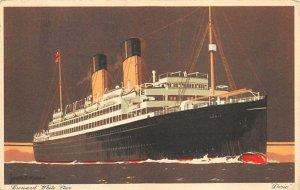 Doric Cunard Line Ship 1935