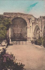 Ruins Of Old Church Old Mission San Juan Capistrano California Handcolored Al...