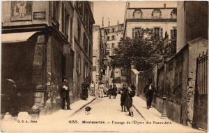 CPA PARIS (18e) Montmartre. Passage de l'Elysee des Beaux-Arts (538095)