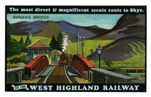 West Highland Railway,Banavie Bridge UK