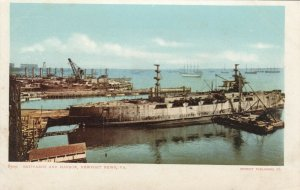 NEWPORT NEWS , Virginia, 1901-07; Shipyard & Harbour