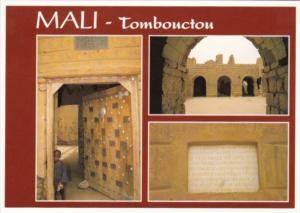 Mali Tombouctou Village Scene
