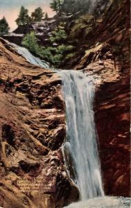 CO - South Cheyenne Canon. Bridal Veil Falls