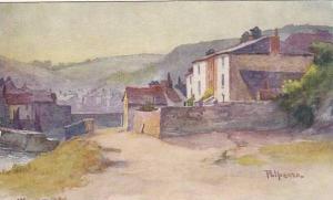 AS, Polperro, Cornwall,England, 1910s