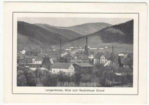 Poland; Langenbielau (Bielawa), View Of Valley & Factories PPC, Unused, c 1930's