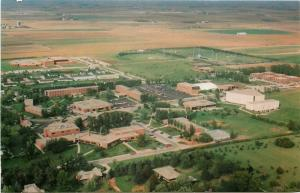 Sioux Center Iowa~Dordt College~1960s Postcard