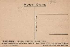 PARIS , France, 00-10s; Allied Officers Night Club, L'ARMORIAL