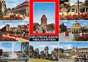 Deutschlands Heilgarten, Externsteine Bad Driburg Hermanns Denkmal Salzuflen