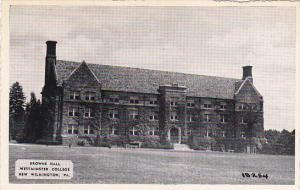 Pennsylvania New Wilmington Browne Hall Westminster College Dexter Press