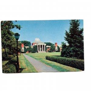 Newark DE University Of Delaware Memorial Library Postcard