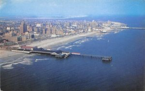 An aerial view of the famous World's Playground in Atlantic City, New Jersey