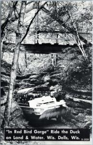 Wisconsin Dells - Tour boat - In Red Bird Gorge - Ride the duck