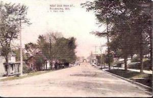 WI Reedsburg West Side Main Street