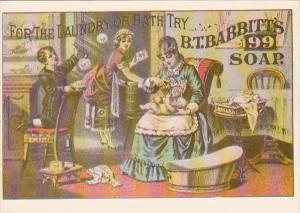 Advertising B T Babbitt's Soap