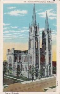 Colorado Denver Immaculate Conception Cathedral 1941