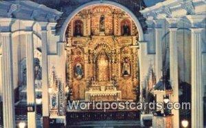 Golden Altar, Church of San Jose Panama City Panama 1965
