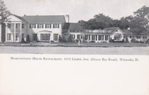 Illinois Winnetka Hearthstone House Restaurant