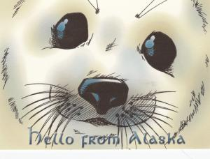 Hello from Alaska , Seal Face , 1980s