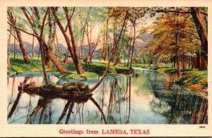 Texas Greetings From Lamesa