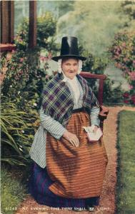 At Evening Time there shall be light - woman folk costume