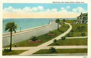 FL, Tampa, Florida, Bay Shore Drive, Tichnor No. 68065