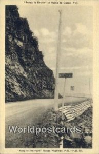 Gaspe Highway, PQ Canada Unused