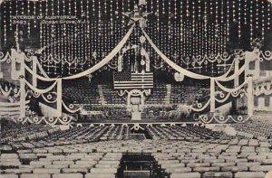 New Jersey Ocean Grove Interior Of Auditorium 1908