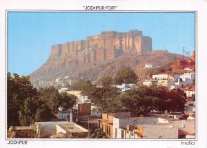 Postcard INDIA, Jodhpur Fort, Jodhpur G44