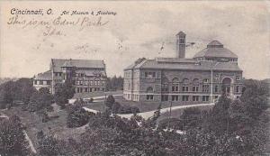 Ohio Cincinnati Art Museum Academy 1906