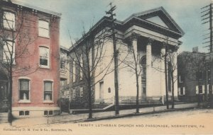 NORRISTOWN, Pennsylvania, 1901-07; Trinity Lutheran Church & Parsonage