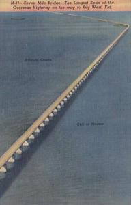 Florida Seven Mile Bridge Longest Span Of Overseas Highway To Key West Curteich