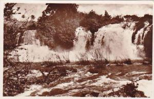 Ethiopia Ambo Falls Real Photo