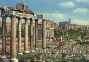Roma, Italy, Italia Foro Romano  Foro Romano