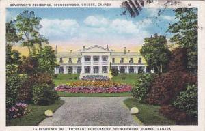 Governor's Residence, Specerwood, Quebec, Canada,  PU-1936