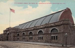 Democratic National Convention Hall, 1912, Fifth Regiment Armory, BALTIMORE, MD