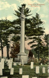 VT - Burlington. Ethan Allen Monument