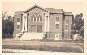 Garden City Kansas ME Church Real Photo Antique Postcard K51059
