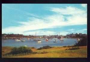 Wychmere Harbor, Massachusetts/Mass/MA Postcard, Beautiful Harbor On Cape Cod