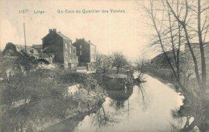 Belgium Liege Un Coin du Quartier des Vennes 06.80